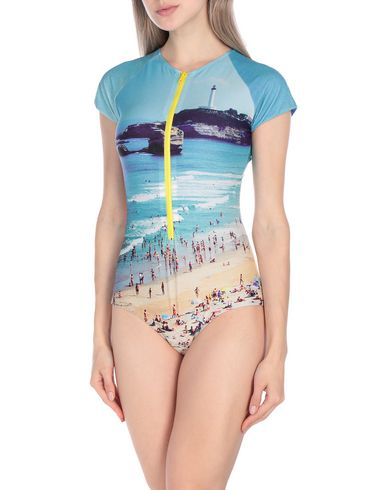 ALBERTINE One-Piece Swimsuits in Sky Blue