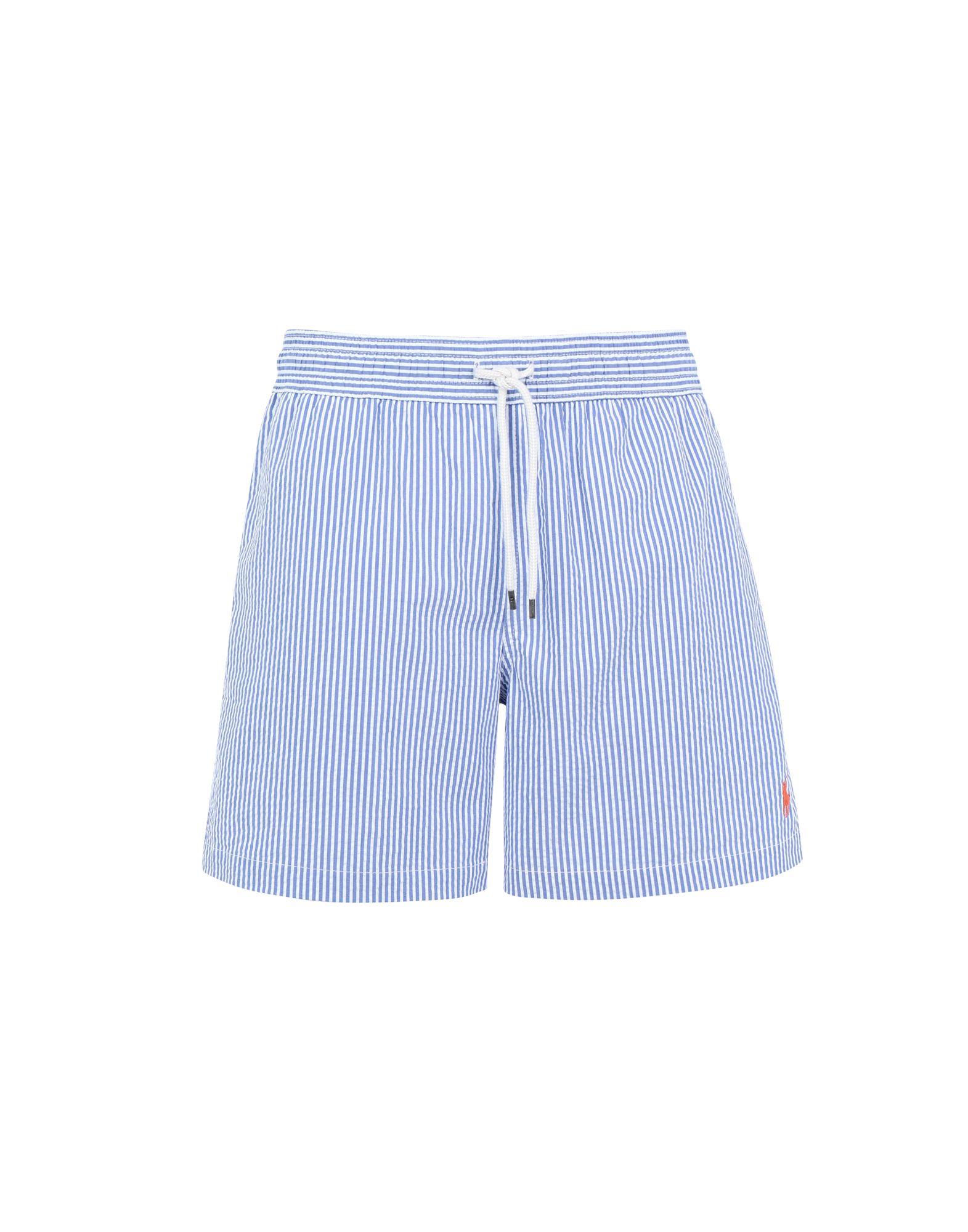1e54f96ae0 Polo Ralph Lauren 5½-Inch Seersucker Swim Trunk - Swim Shorts - Men ...