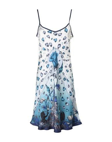 EMMA J SHIPLEY x DISNEYBeauty and the Beast Silk Slip Dressネグリジェ