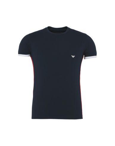 Emporio Armani Menns Strikket T-shirt Camiseta Interiør virkelig online sneakernews online clearance klassisk rabatt Kjøp BgWOjLoi
