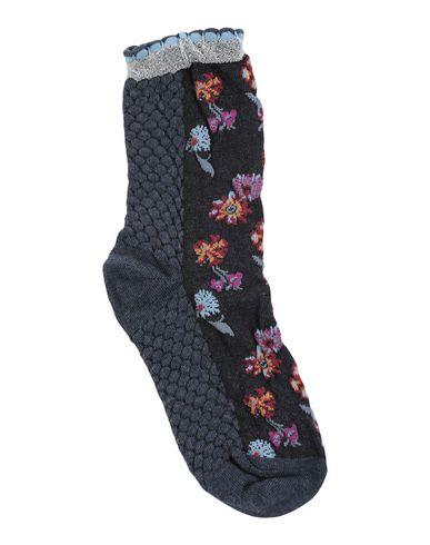 PIERRE MANTOUX Socks & Tights in Steel Grey