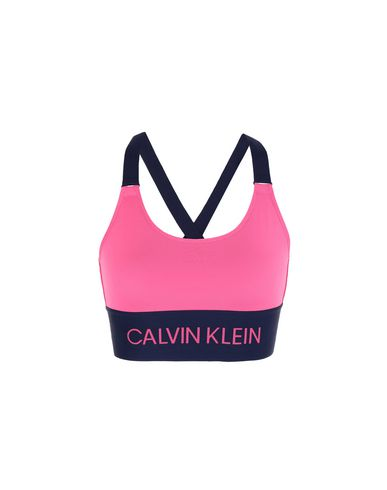 470421b48 Calvin Klein Cross Back Sport Bra - Top - Women Calvin Klein Tops ...