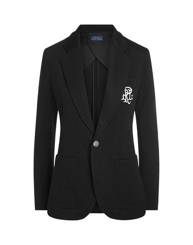 bfa035eb2a5 Polo Ralph Lauren Crested Cotton Blazer - Blazer - Women Polo Ralph ...
