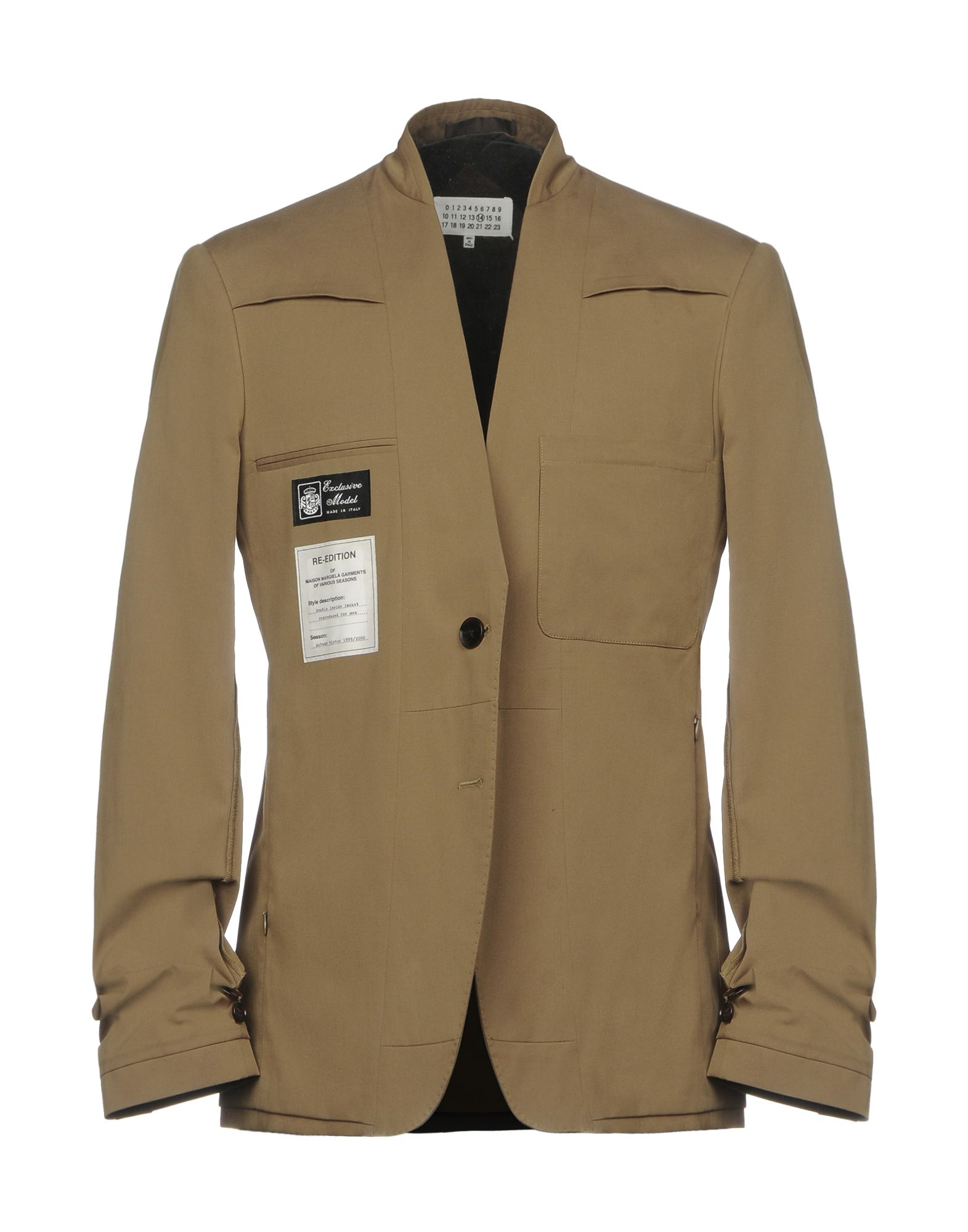 c6be6aa9fd0 Maison Margiela Men - Maison Margiela Suits And Blazers - YOOX United States