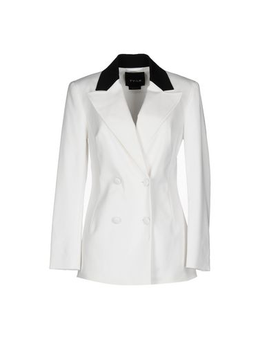 TY-LR Blazer in White
