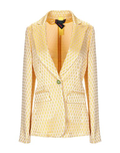 Shop Femme By Michele Rossi Blazer In Sand