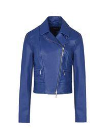 new styles 71b04 96fb3 Giubbotti Pelle Armani Jeans Donna Collezione Primavera ...