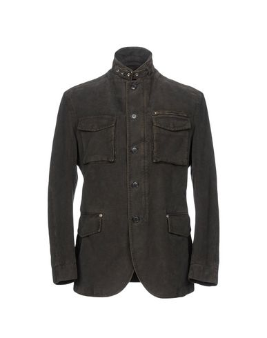 L.B.M. 1911 Full-Length Jacket in Dark Green