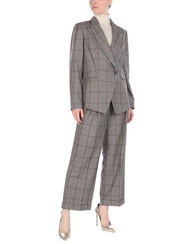 Brunello Cucinelli Suit In Dark Brown