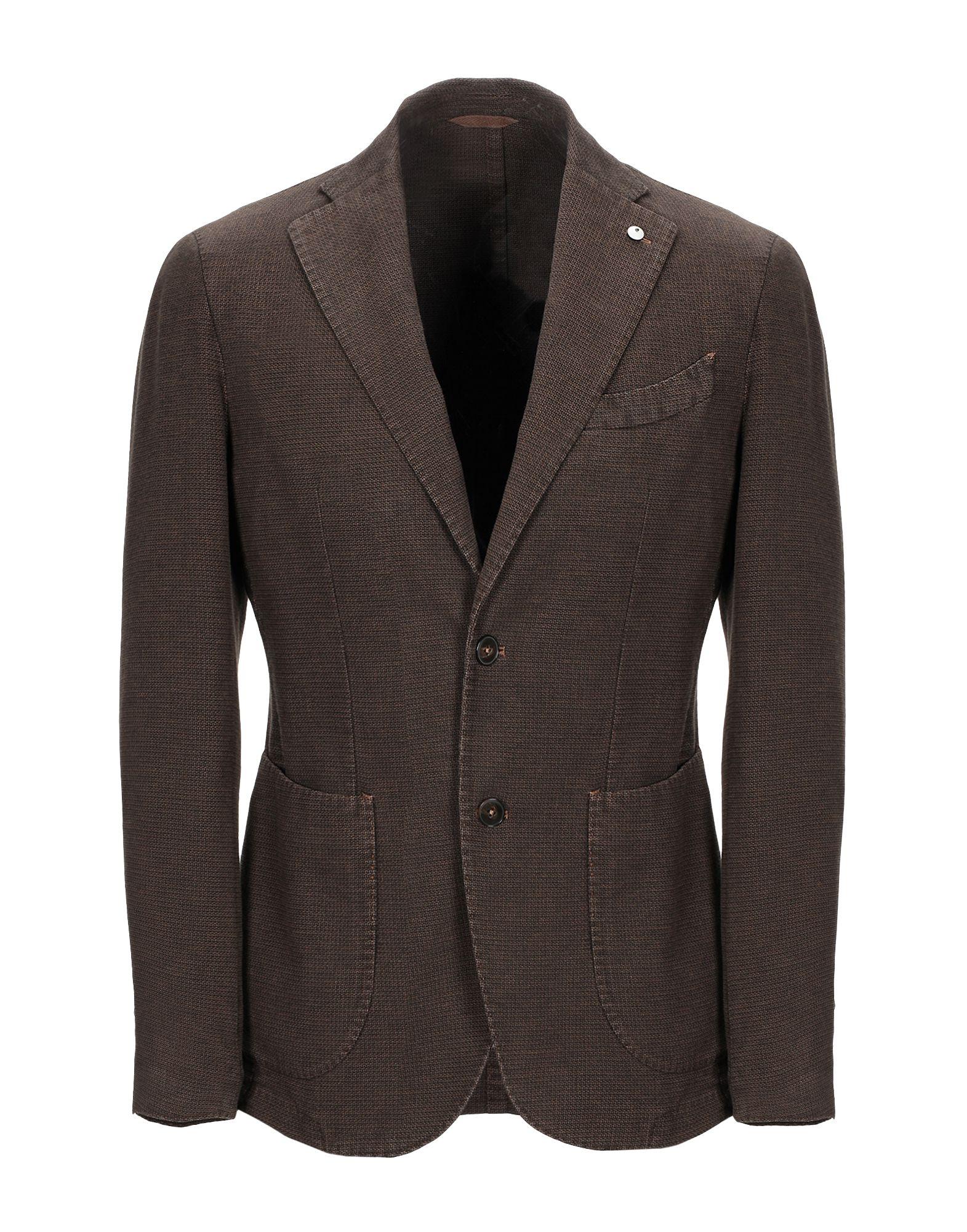 焦げ茶色ジャケットの画像
