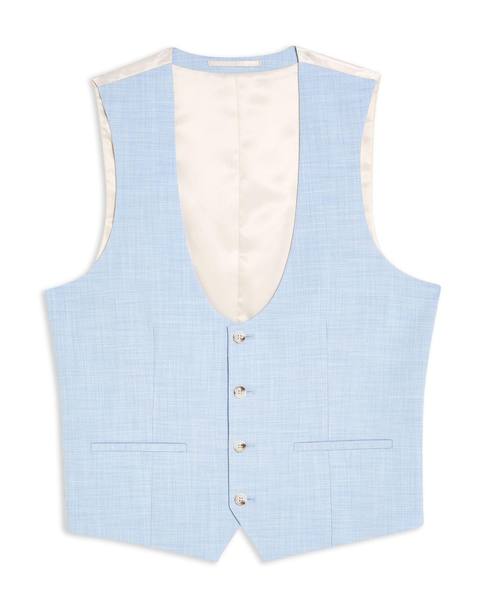 Panciotto Topman blu blu Waistcoat - uomo - 49493730QT  Sonderangebot