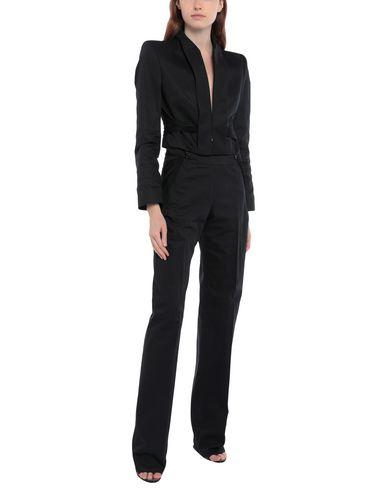 Alexander Mcqueen Suit In Black