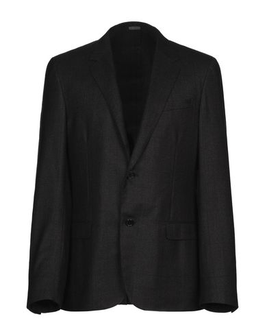 Lanvin Blazer In Steel Grey