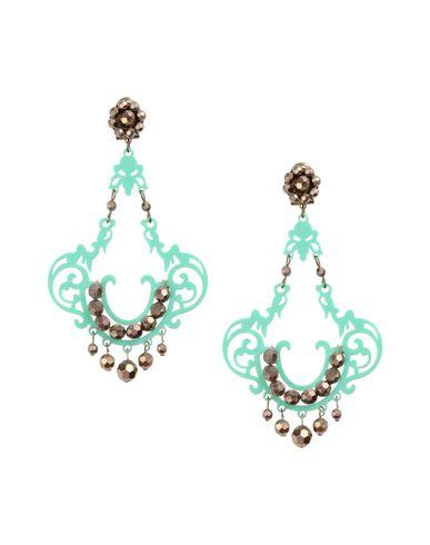 MERCANTIA Earrings in Light Green