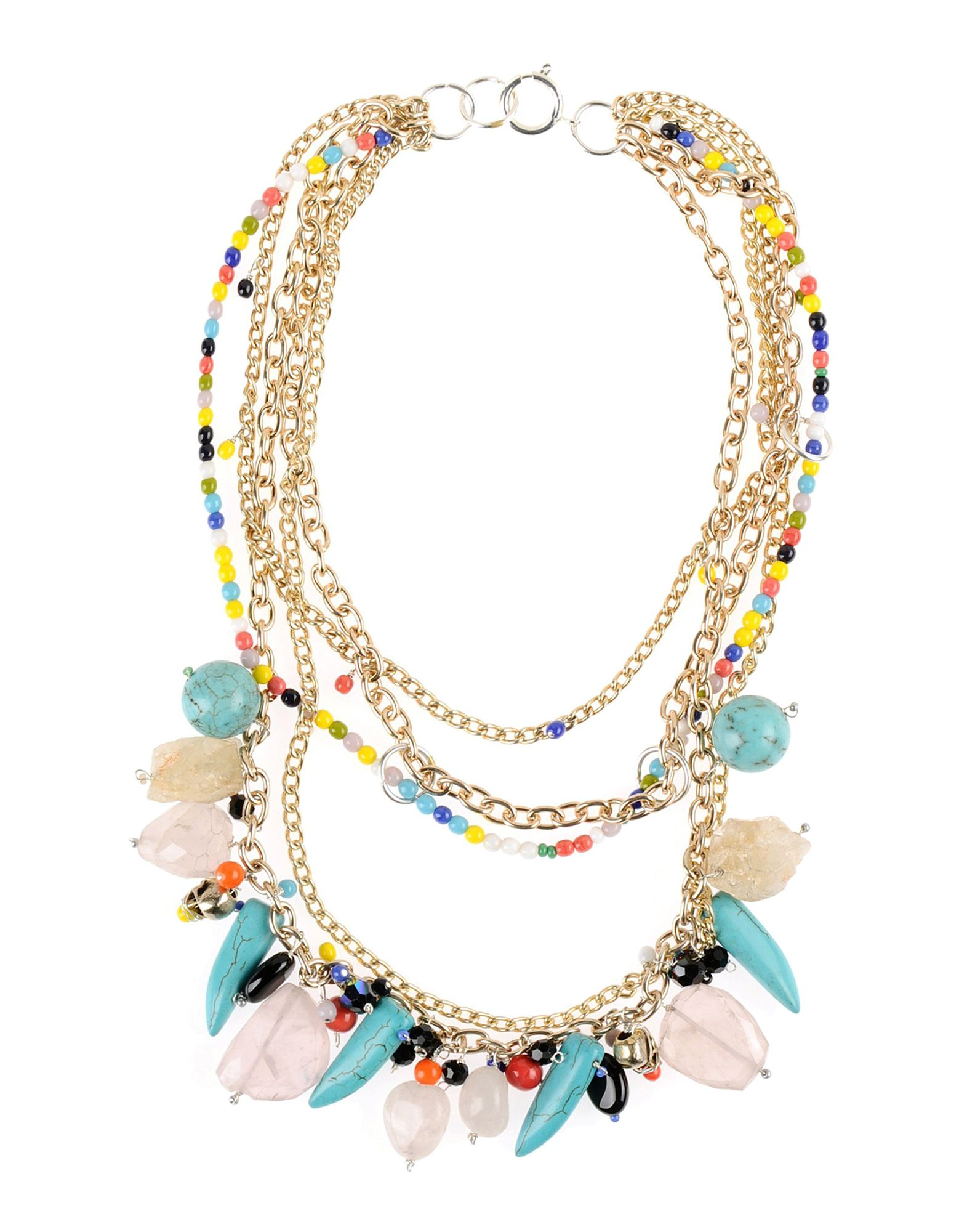 Collana First People First Philomene Beaded Necklace - Donna - Acquista online su