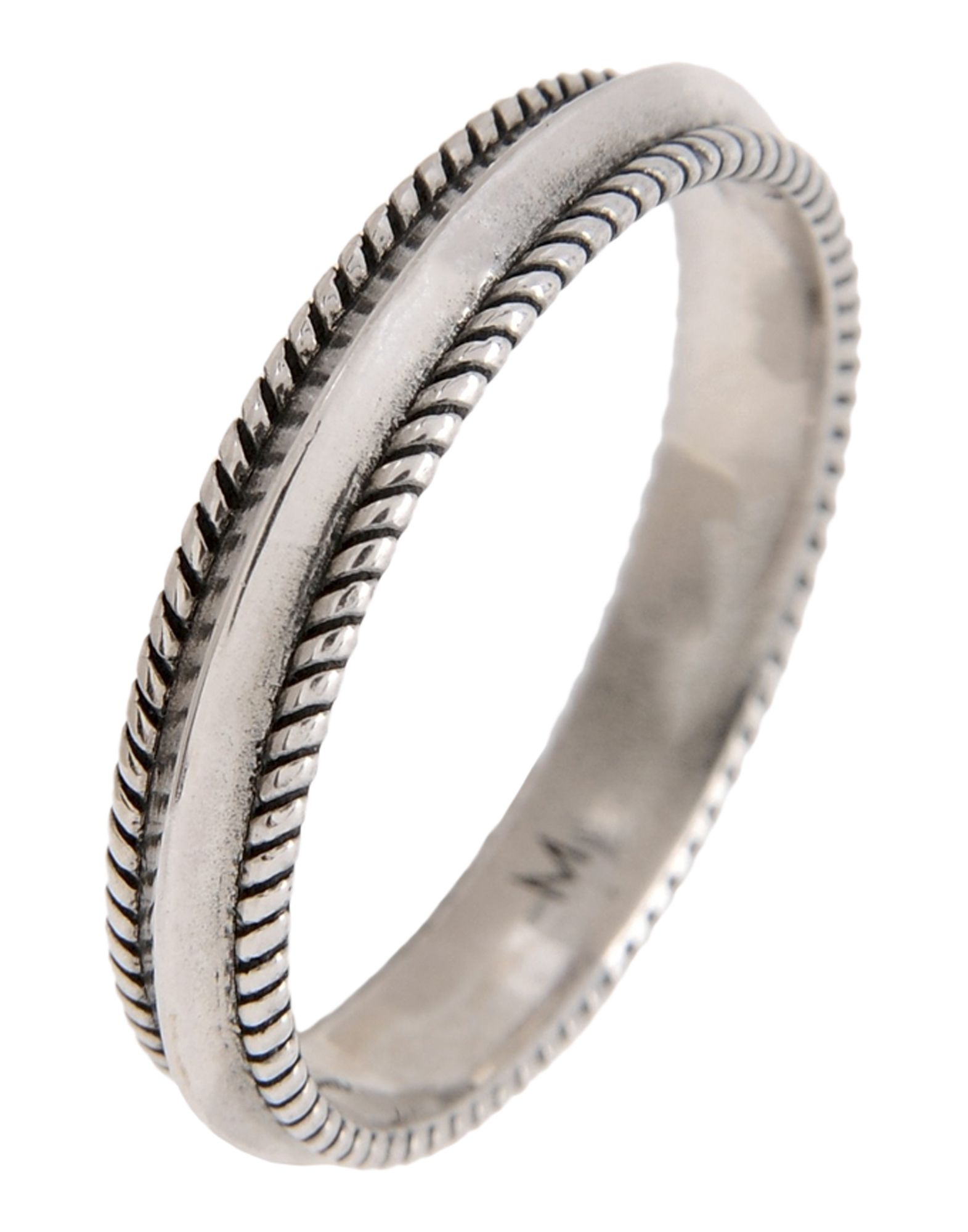 Anello First People First Skinny Edge Band - Uomo - Acquista online su