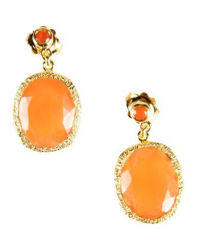 JADE JAGGER Earrings in Orange