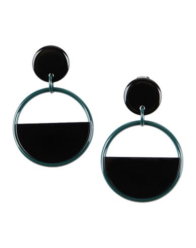 horn woman in n earrings earring d sphere clip with from us the metal on marni natural