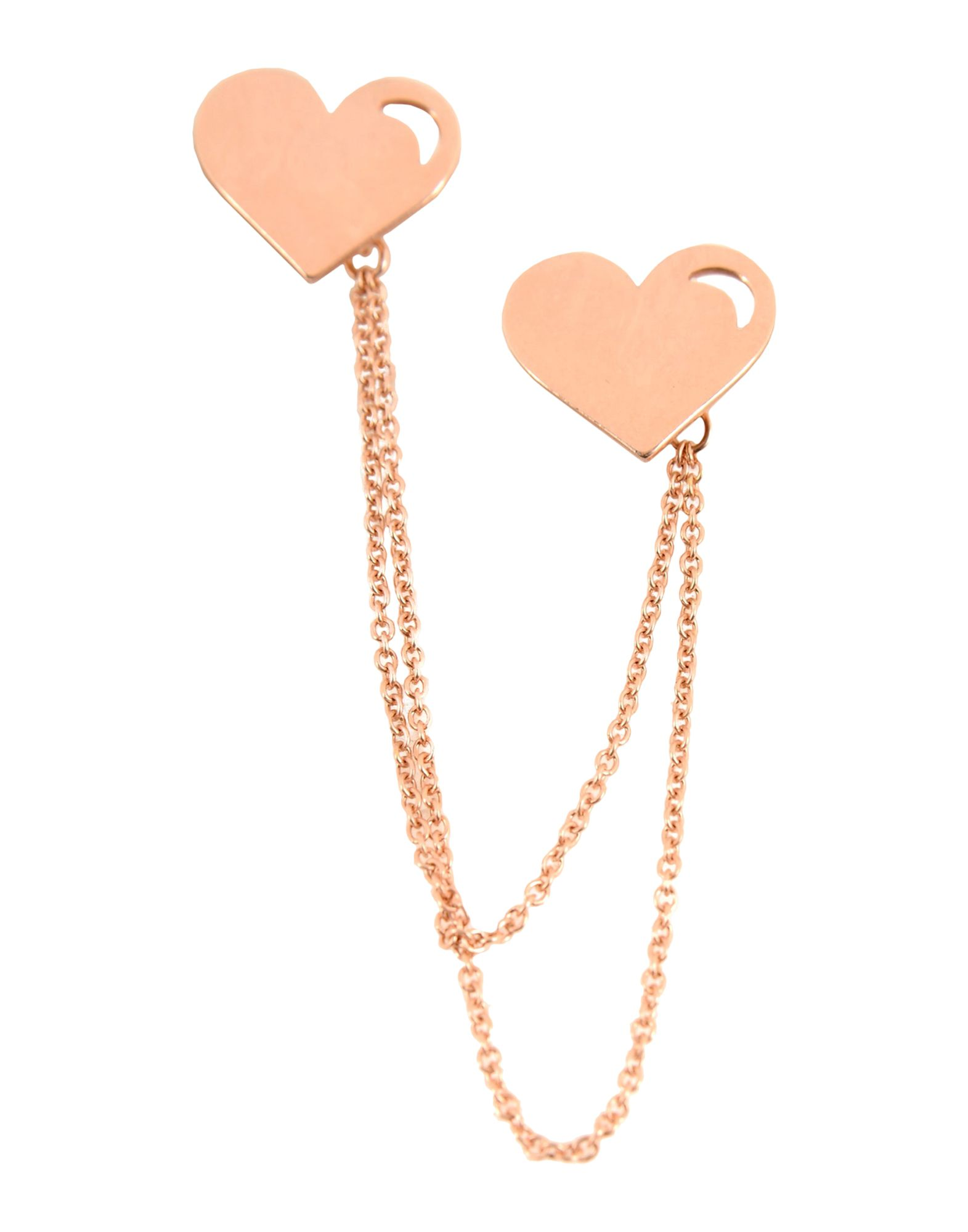 Orecchino First People First Earcuff Pure Heart With Chain - Donna - Acquista online su