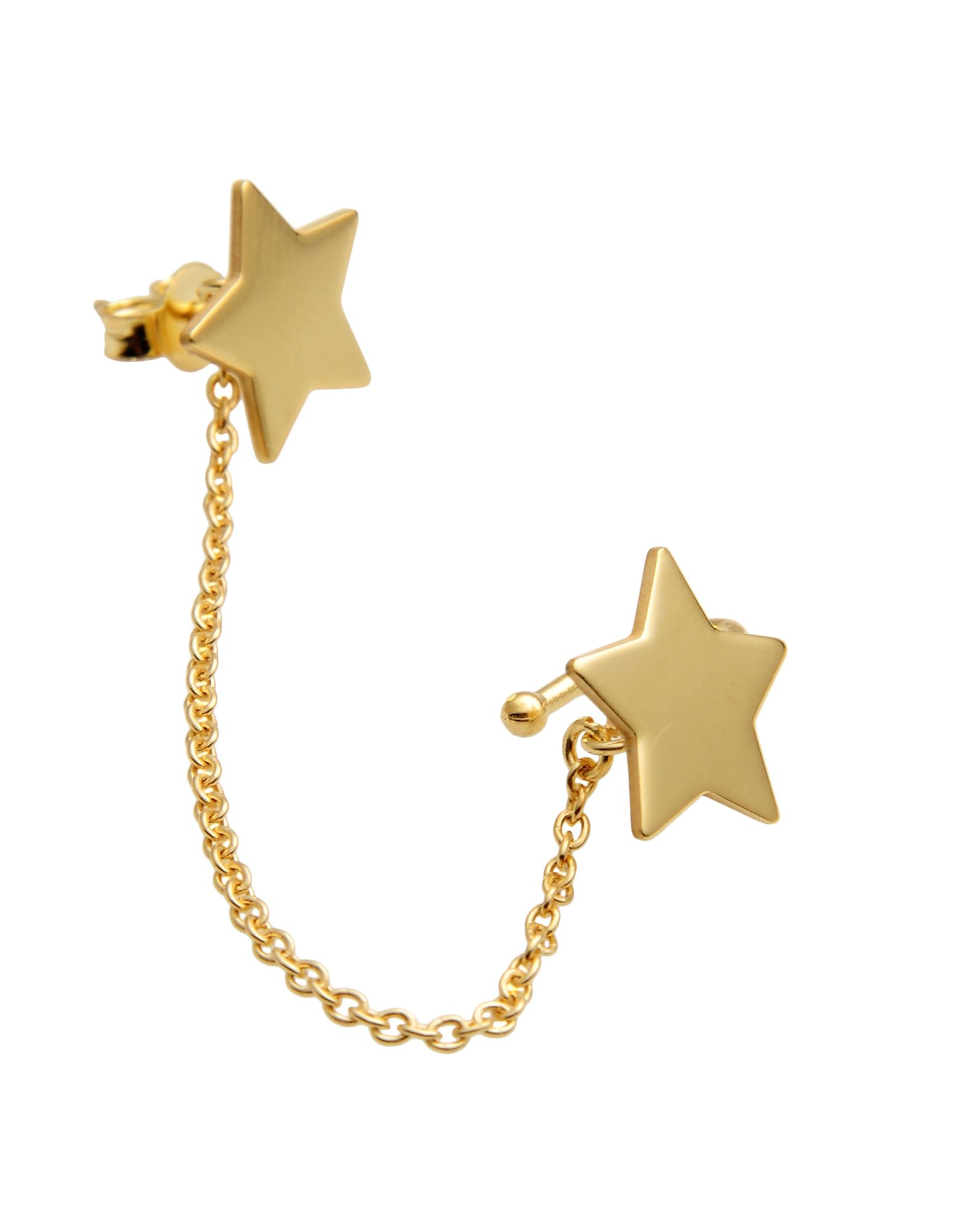 Orecchino First People First Ear Cuff With Chain Stars - Donna - Acquista online su