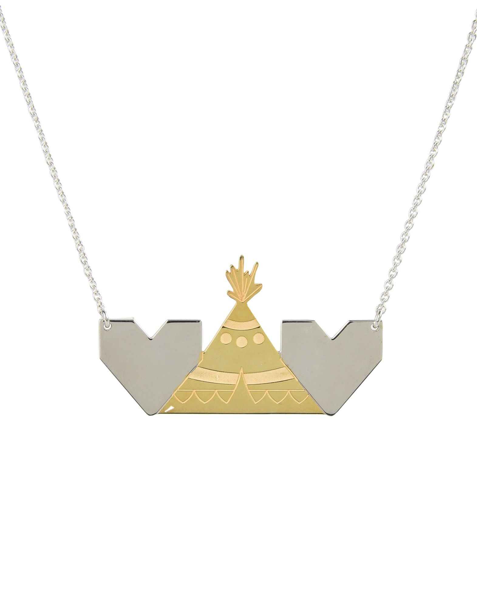 Collana First People First Necklace 2Cuori E 1 Capanna - Donna - Acquista online su
