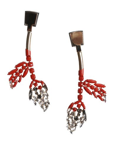 n earrings leather earring shaped d from woman marni the and in us metal on leaf clip