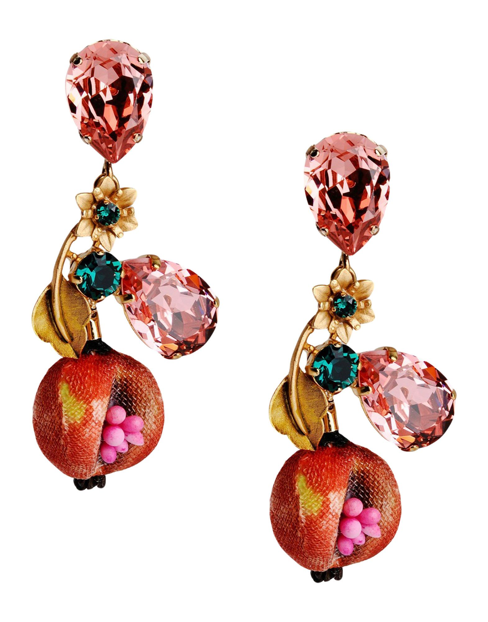 Dolce & Gabbana Women Springsummer And Fallwinter Collections Earrings,  On Sale Online On Yoox