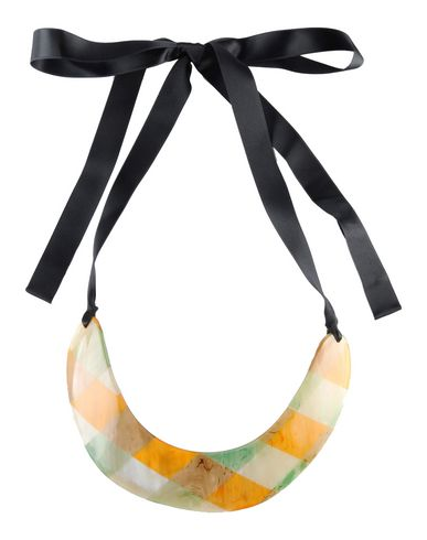 how with to shop flowers wear where women black leather marni necklace original buy