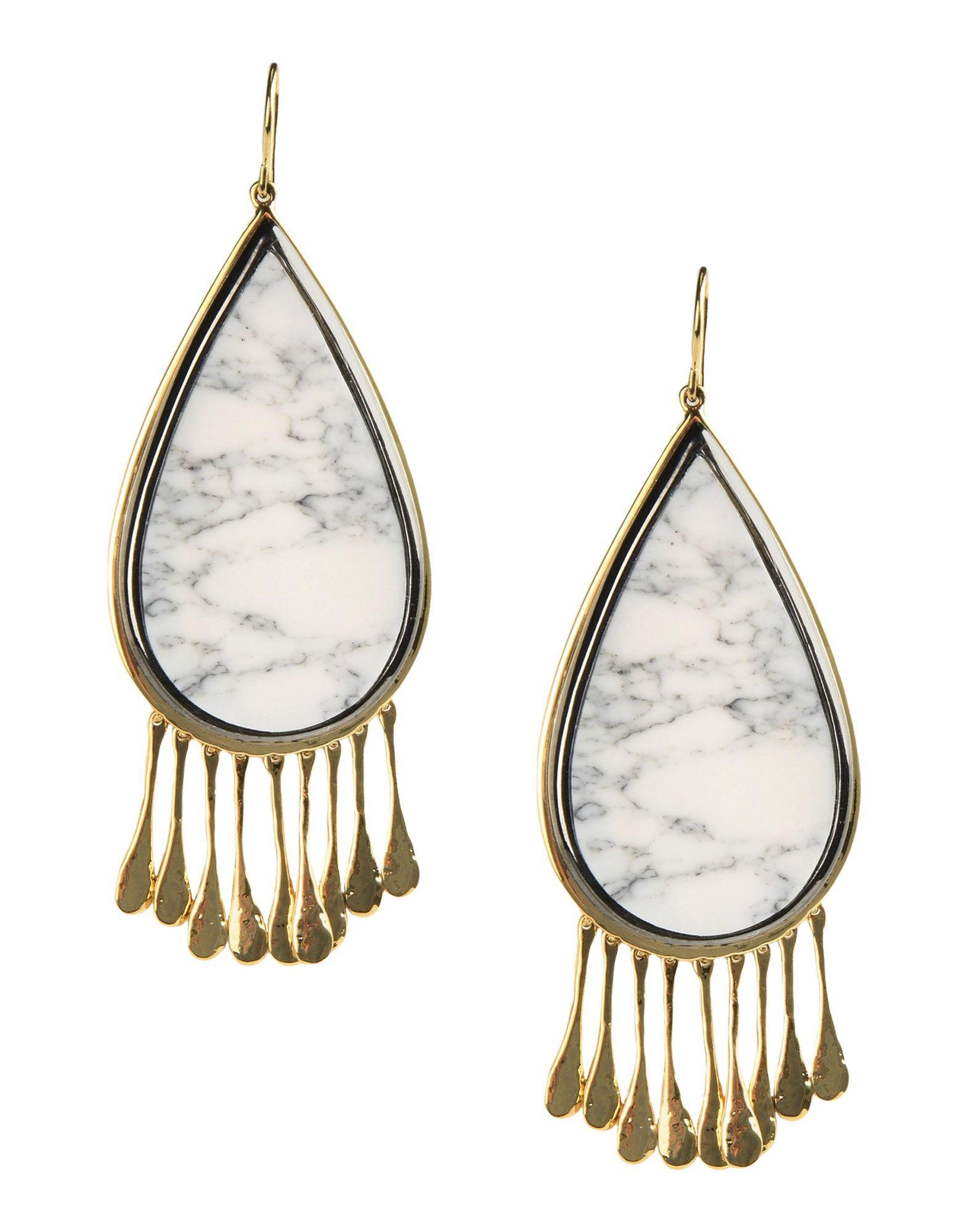 Orecchini Aurélie Bidermann Untitled Marble Earrings - Donna - Acquista online su