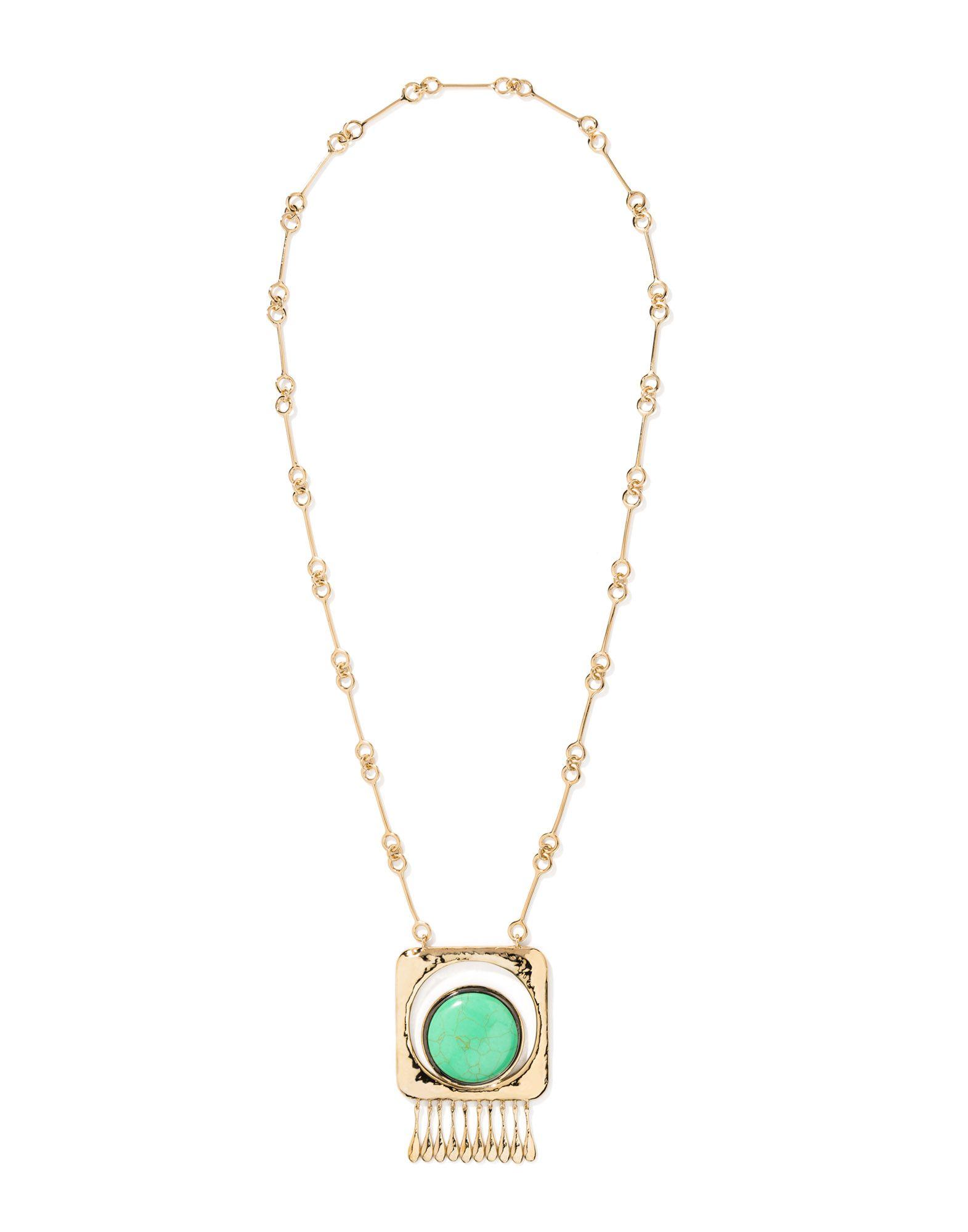 Collana Aurélie Bidermann Untitled Turquoise Necklace - Donna - Acquista online su