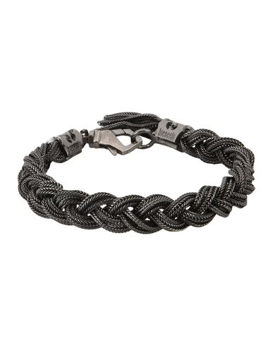 Emanuele Bicocchi Bracelet for Women, Black, Silver, 2017, One Size