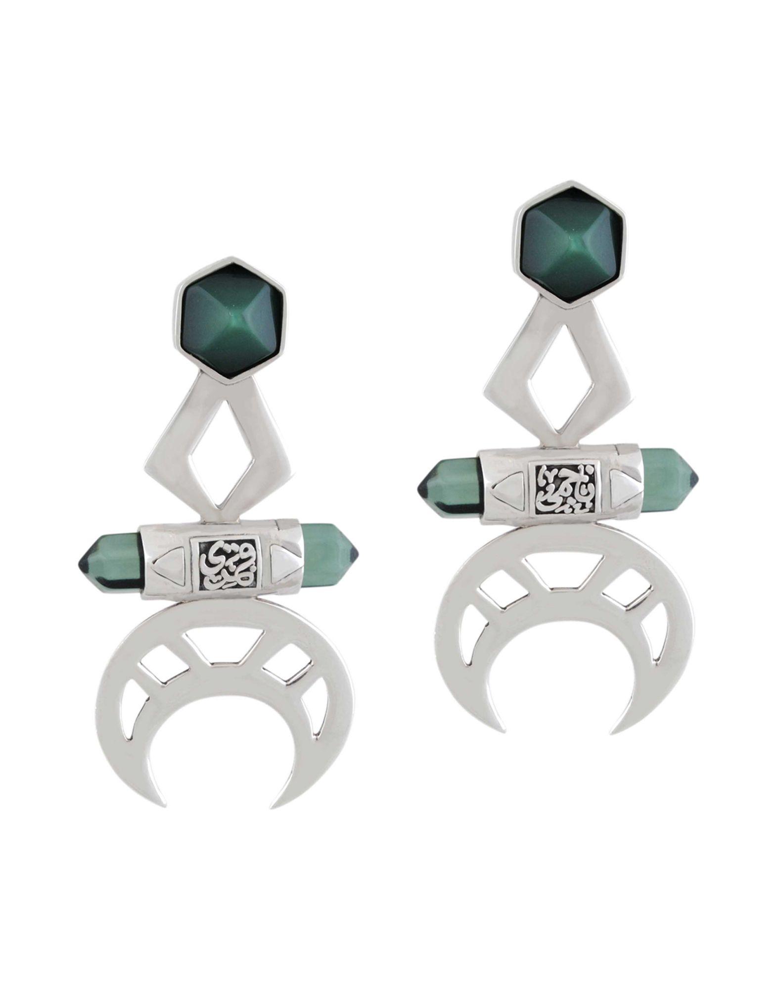 Orecchini Jude Benhalim Crescent Earrings - Donna - Acquista online su