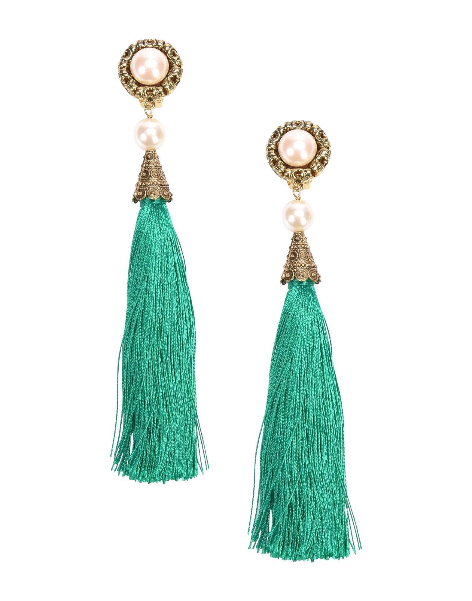Orecchini Thot Gioielli Ors138v Cono Nappa Verde - Donna - Acquista online su