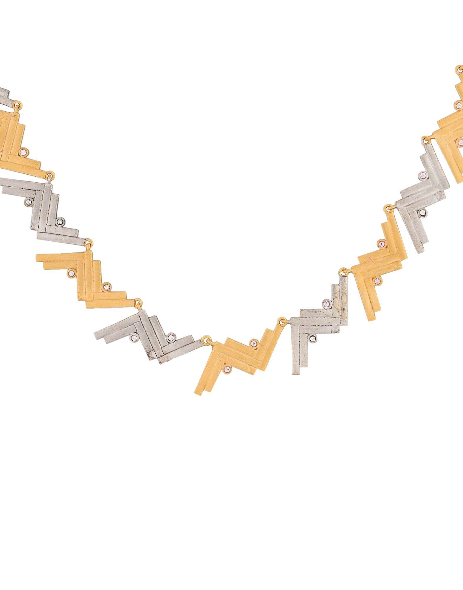 Collana Charlotte Valkeniers Cluster Necklace - Donna - Acquista online su