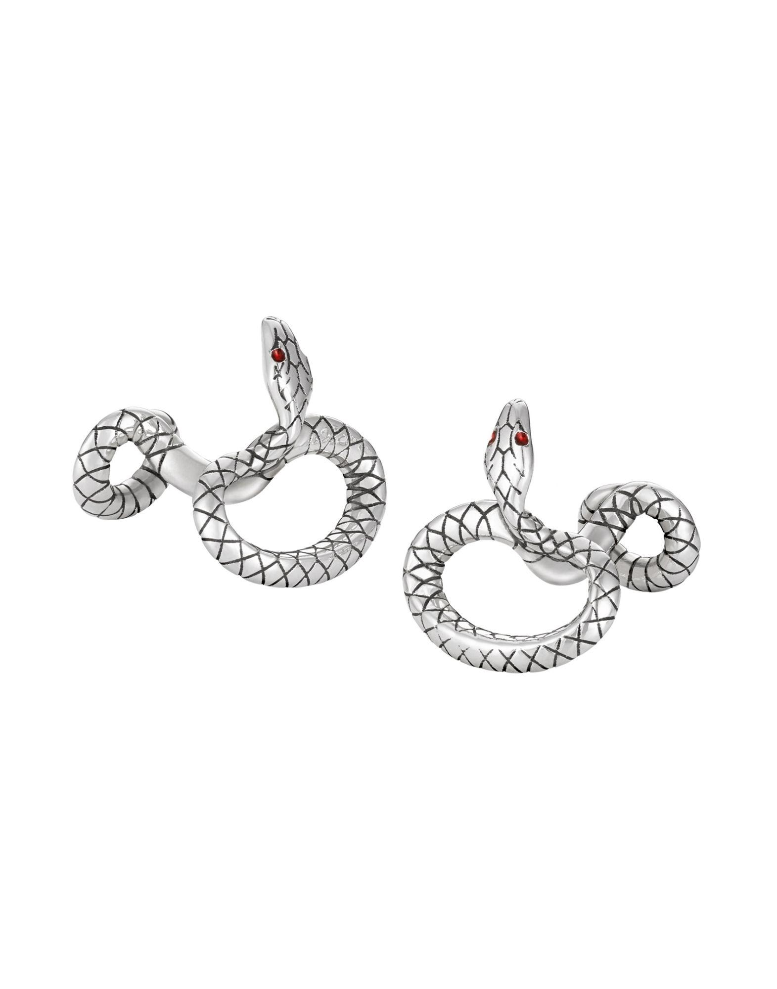 Gemelli E Fermacravatte Montblanc Serpent Cuff Links - Uomo - Acquista online su