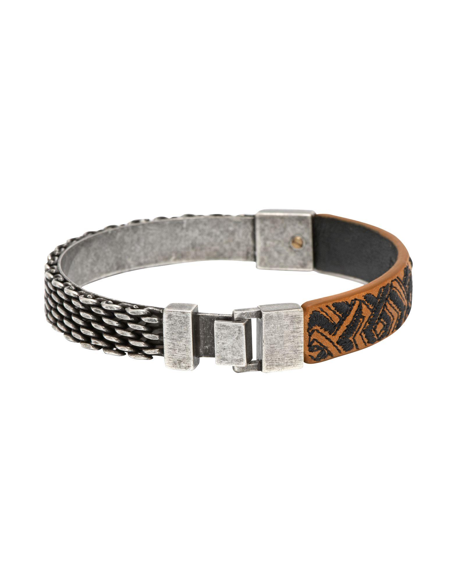 Bracciale Northskull London Woto Embroidered Tag Bracelet - Uomo - Acquista online su