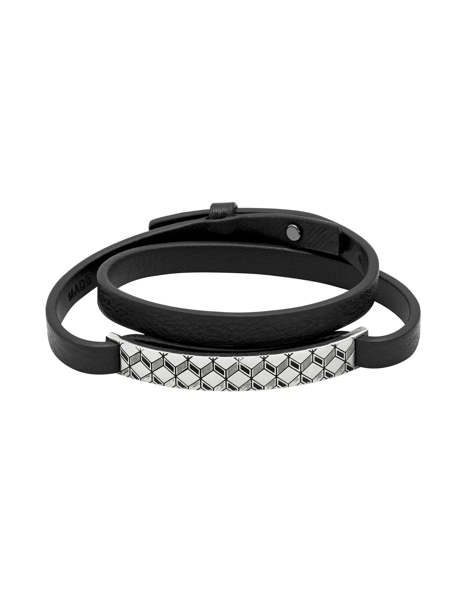 Bracciale Northskull London Kasai Tag Bracelet - Uomo - Acquista online su