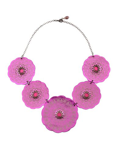 ALMALA Necklace in Fuchsia