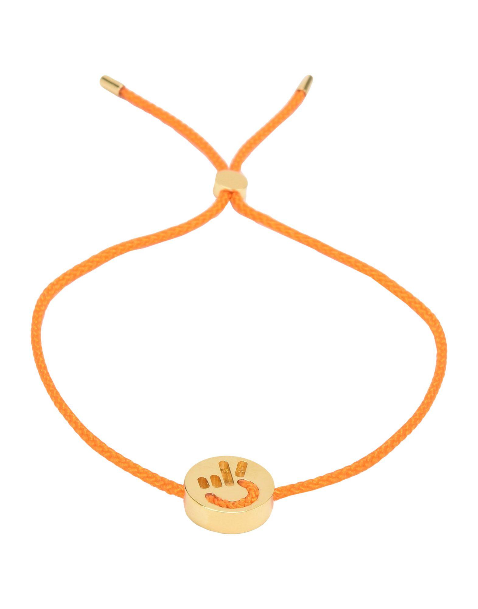 Bracciale Ruifier Friends Hands Up Peace Bracelet_Orange - Uomo - Acquista online su