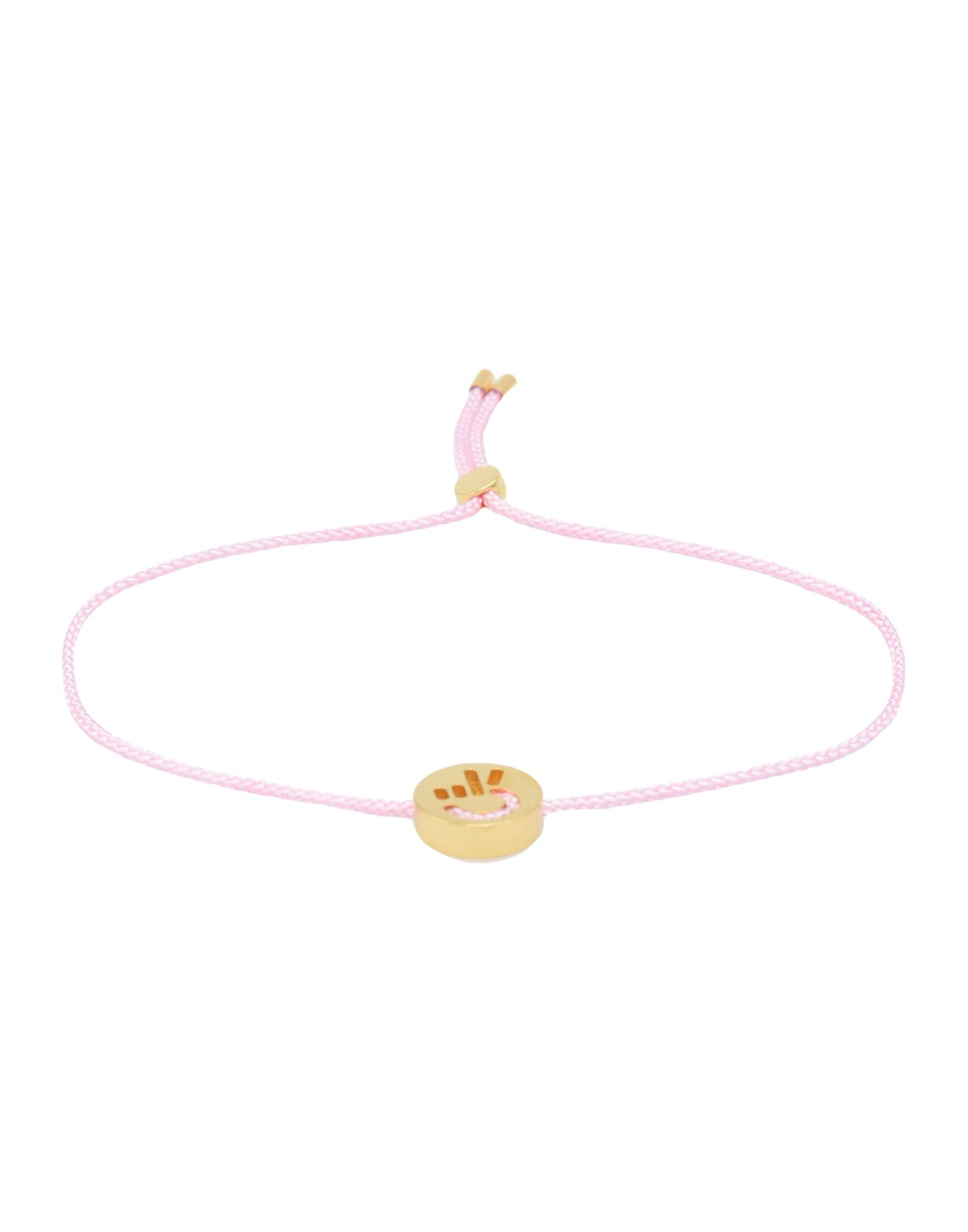 Bracciale Ruifier Friends Hands Up Peace Bracelet_Rose Pink - Donna - Acquista online su
