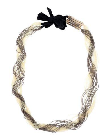MARIA CALDERARA Necklace in Beige
