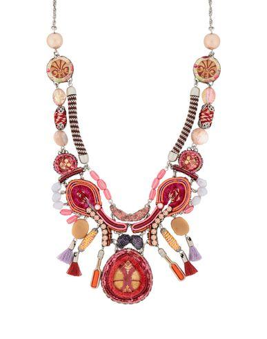 AYALA BAR Necklace in Fuchsia