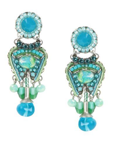 AYALA BAR Earrings in Light Green