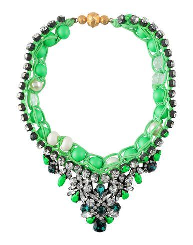 SHOUROUK Necklace in Acid Green