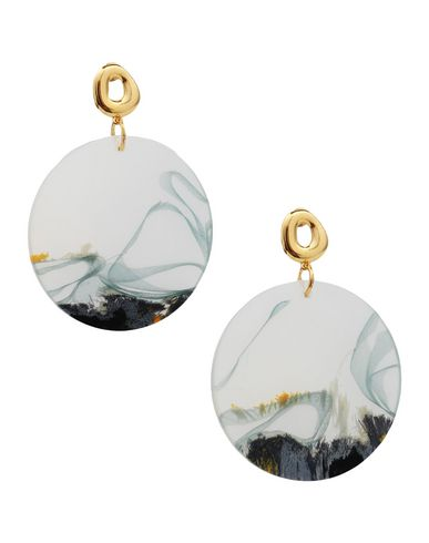 EJING ZHANG Earrings in Gold