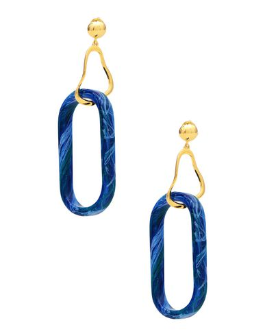 EJING ZHANG Earrings in Blue