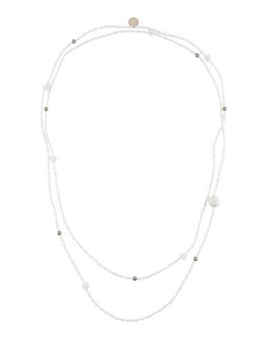 MARIA CALDERARA Necklace in White