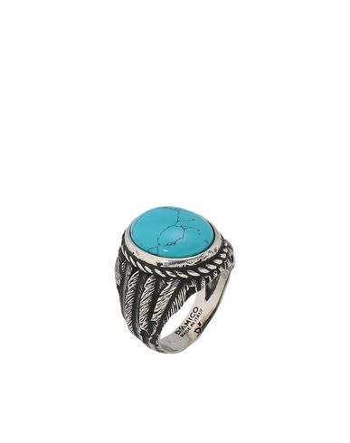 D'AMICO Rings in Turquoise
