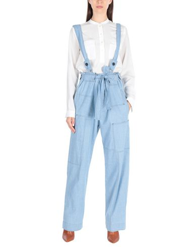 Overalls in Sky Blue