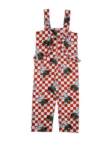 00f6527f01ec White  Overalls Girl 3-8 years online on YOOX United States